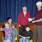 Community Shop Cheque for Mother & Toddler Group